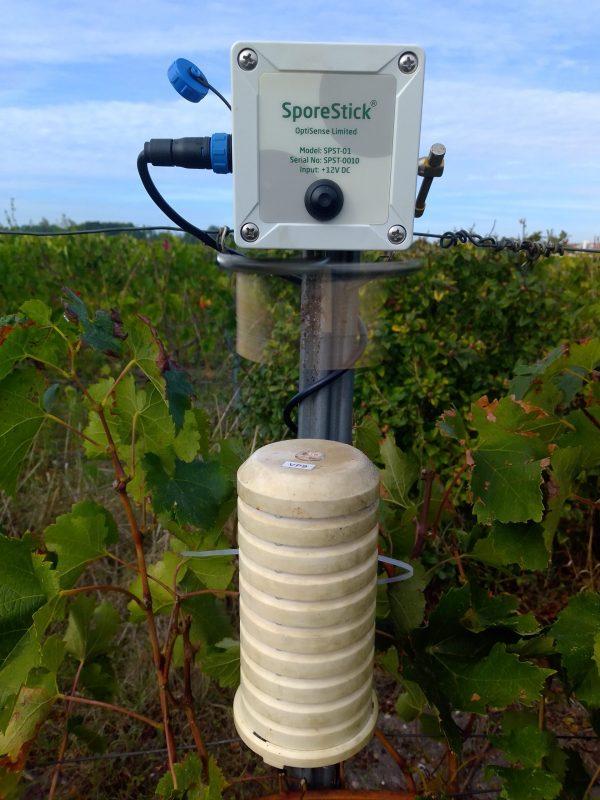 capteur spores vigne
